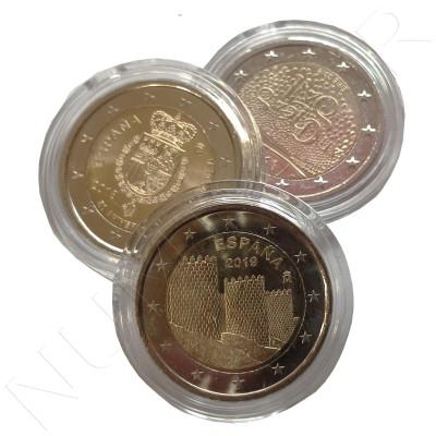 2 euros capsules - 26 mm