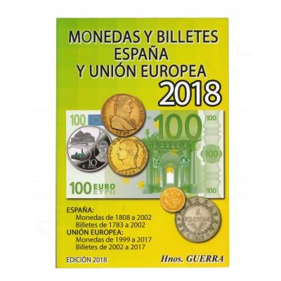 Catalogo Monedas y Billetes ESPAÑA - EU Hnos. Guerra 2018