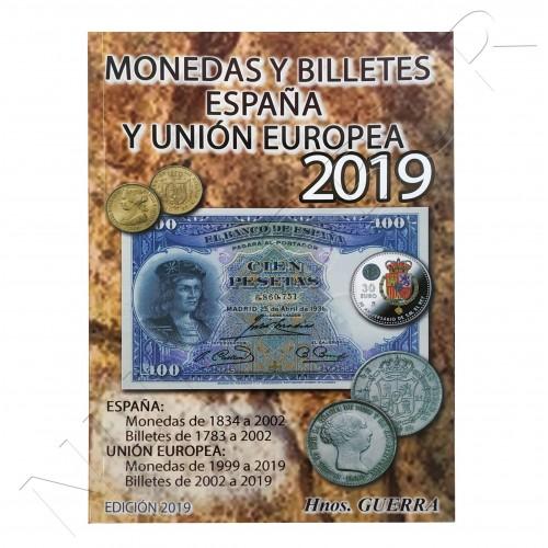 Catalogo Monedas y Billetes ESPAÑA - EU Hnos. Guerra 2019