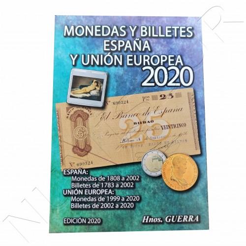 Catálogo Monedas y Billetes España y UE 2020 - Hermanos Guerra
