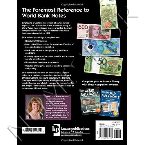 Wolrd Paper Money - 1961 / Presente 23ª Edicion