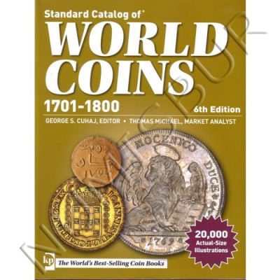 World Coin - 1701 / 1800 6ª Edicion