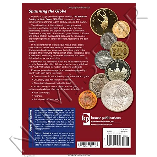 Wolrd Coin - 1901 / 2000 45ª Edicion
