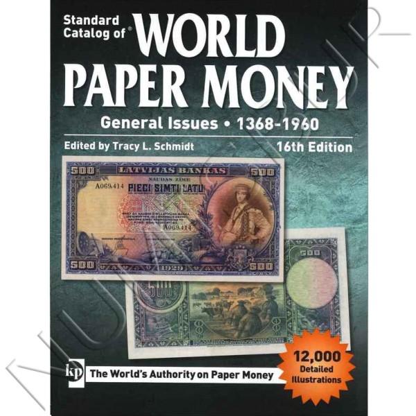 World Paper Money - 1368 / 1960 16th edition