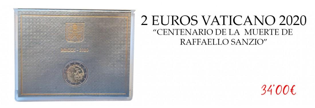 2 euros vaticano 2020