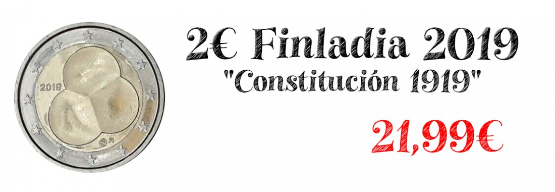 2 euros finlandia 2019