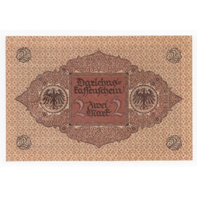 2 marks GERMANY 1920 - S/C