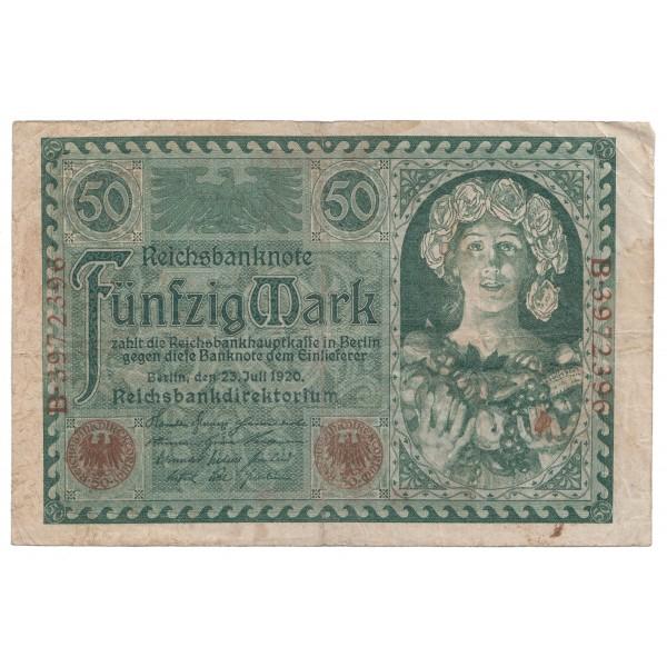 50 marcos ALEMANIA 1920