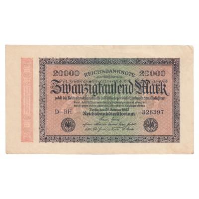 20000 marcos ALEMANIA 1923 - EBC+
