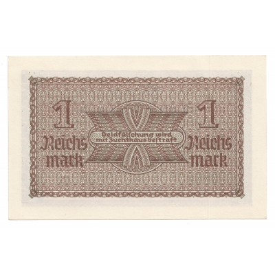 1 reich mark ALEMANIA 1939 - 1945 | S/C