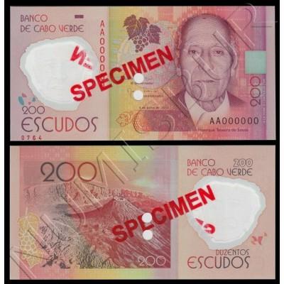 200 escudos CAPE VERDE 2014 - Specimen