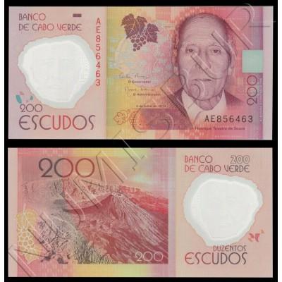 200 escudos CAPE VERDE 2014