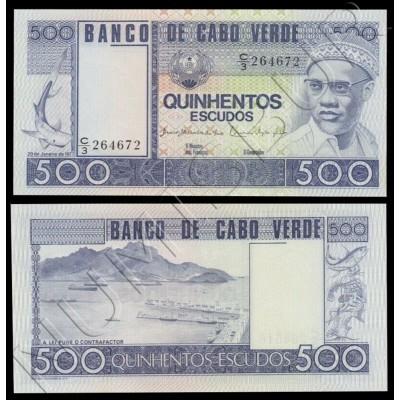 500 escudos CAPE VERDE 1977