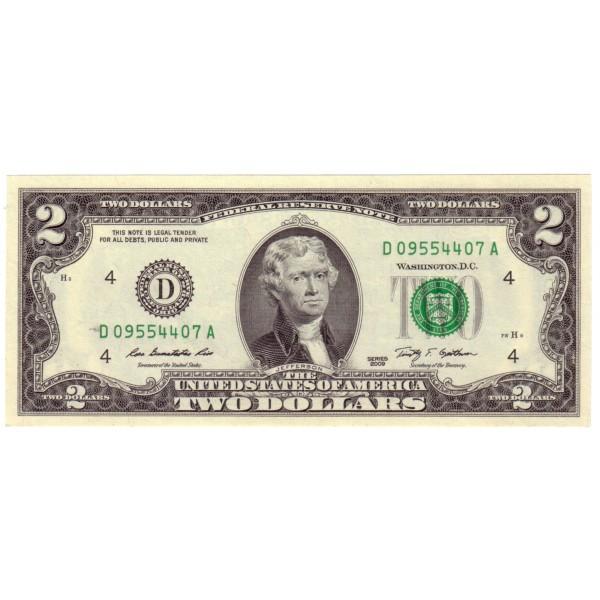 2$ EEUU 2009 - Jefferson S/C