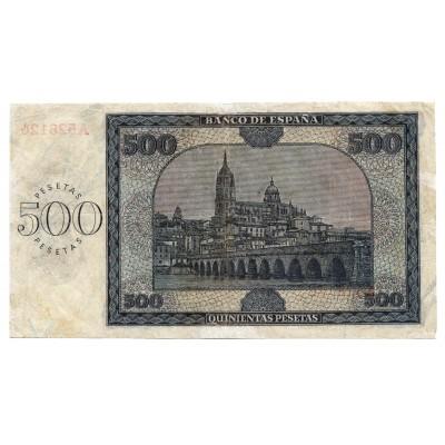 500 pesetas ESPAÑA 1936 - Burgos #4