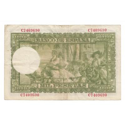 1000 pesetas ESPAÑA 1951 - Serie C #23