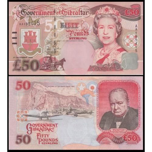 50£ GIBRALTAR 2006 - KP#34a