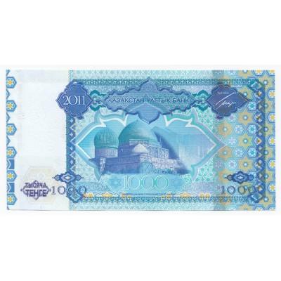 1000 tenge KAZAKSHTAN 2011 - UNC