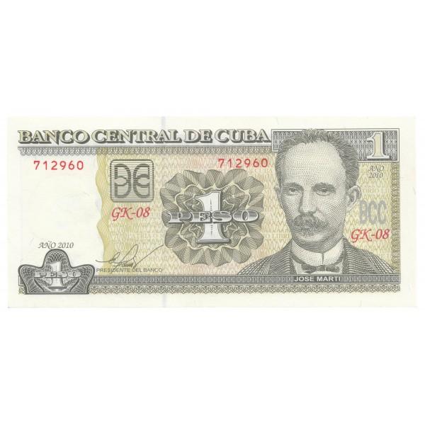 1 peso CUBA 2010 - S/C
