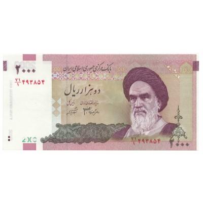 2000 rials IRAN 2005 - S/C