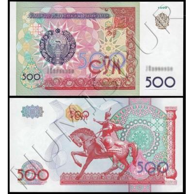 500 sum UZBEKISTAN 1999 - UNC
