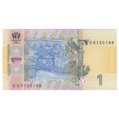 1 hryven UKRAINE 2011 - UNC