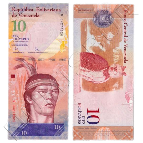 10 bolivares VENEZUELA 2009