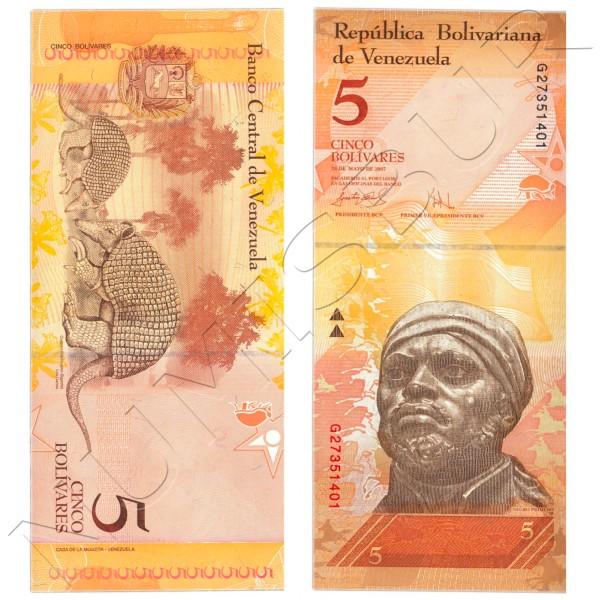 5 bolivares VENEZUELA 2009