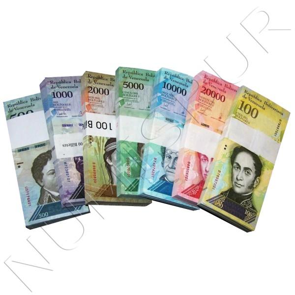 Serie VENEZUELA 2016 - 7 banknotes (700 pieces)