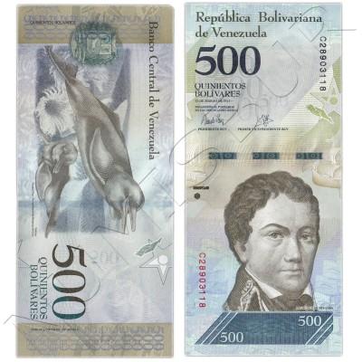 500 bolivares VENEZUELA 2017