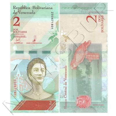 2 bolivares VENEZUELA 2018