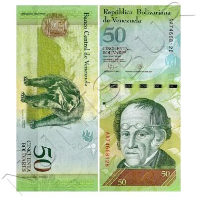 50 bolivares VENEZUELA 2016