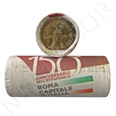 ROLL ITALY 2021 - 150 years since the establishment of Rome as the capital of Italy