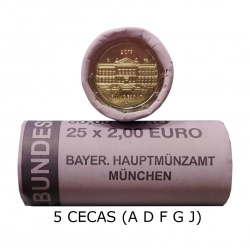 ROLL GERMANY 2019 - Bundesrat (A D F G J)