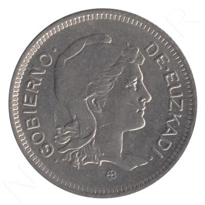1 peseta GOBIERNO DE EUZKADI 1937 - S/C #105