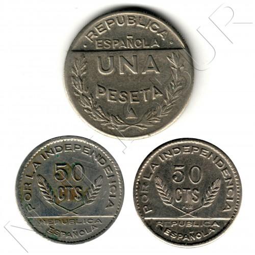 3 coins serie - Consejo Santander, Palencia y Burgos