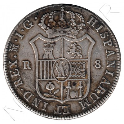 8 reales SPAIN 1809 - Jose I Bonaparte Madrid