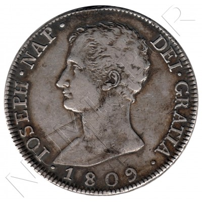 8 reales ESPAÑA 1809 - Jose I Bonaparte Madrid