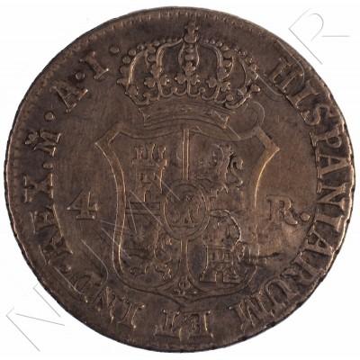 4 reales ESPAÑA 1811 - Jose I Bonaparte Madrid
