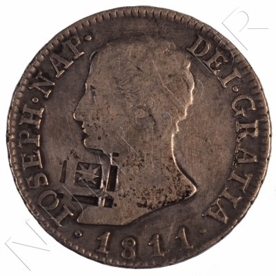 4 reales SPAIN 1811 - Jose I Bonaparte Madrid