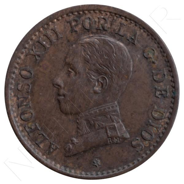 1 centimo ESPAÑA 1911 - Alfonso XIII PC. V *1* #70