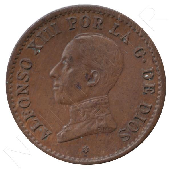 1 centimo ESPAÑA 1912 - Alfonso XIII PC. V *2* #78