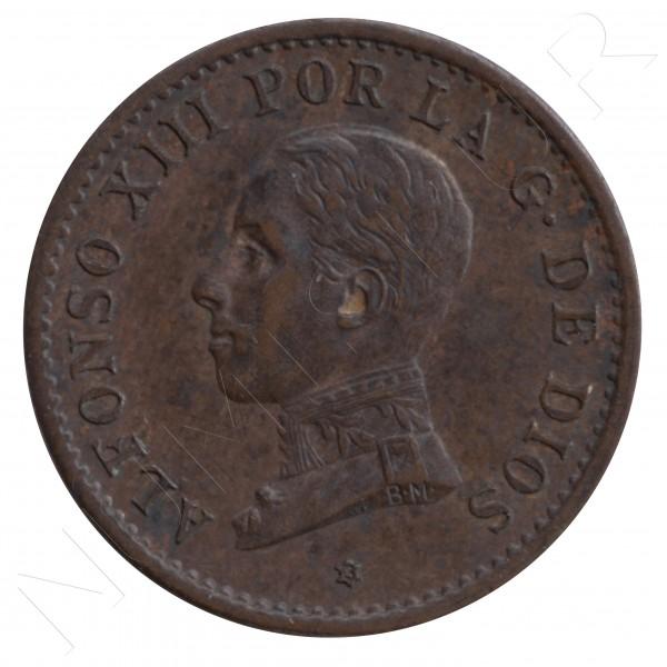 1 centimo ESPAÑA 1913 - Alfonso XIII PC. V *3* #104