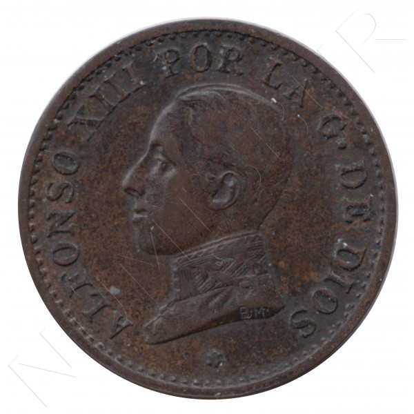 1 centimo ESPAÑA 1913 - Alfonso XIII PC. V *3* #111