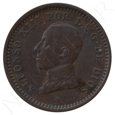 2 cents SPAIN 1912 - Alfonso XIII PC. V *12*