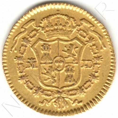 1/2 escudos SPAIN 1783 - MADRID JD