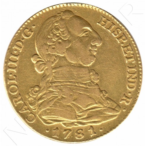 4 escudos SPAIN 1781 - Madrid JP