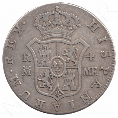 4 reales SPAIN 1791 - Carlos IV MADRID MF