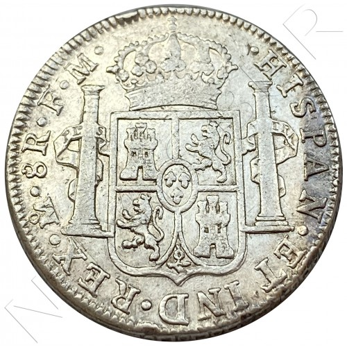 8 reales SPAIN 1792 - F.M. Mexico (Carlos IV)