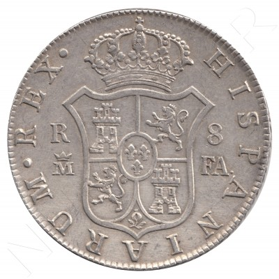 8 reales SPAIN 1803 - Carlos IV MADRID FA